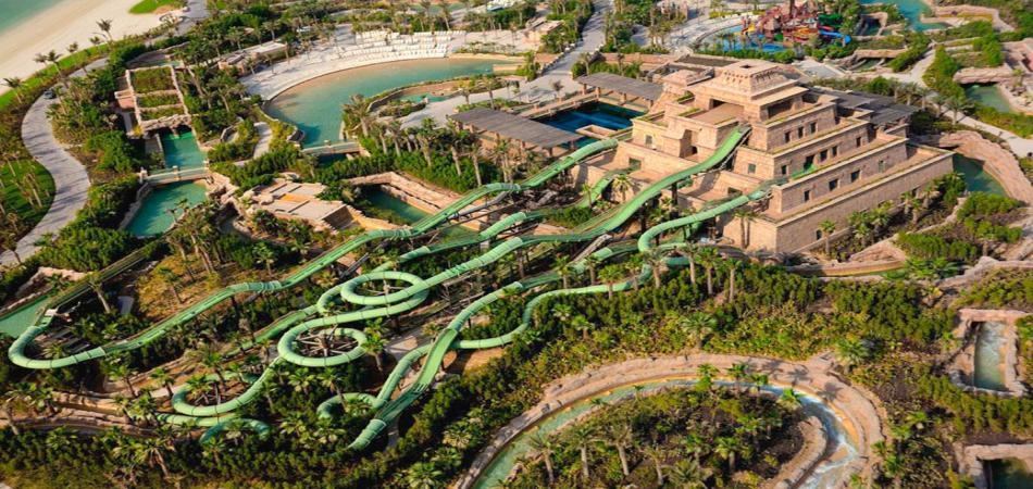 Aquaventure Waterpark-ежегодное техническое обслуживание
